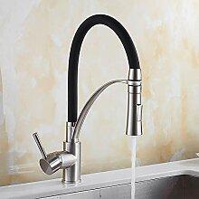 Küchenarmaturen Wasserhahn Gebürstet Spülbecken