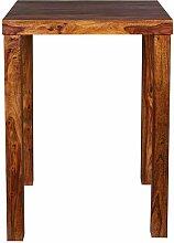 Küchenbartisch aus Sheesham Massivholz 80 cm breit
