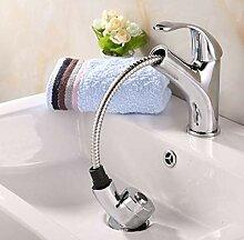 Küchenbecken Waschbecken Wasserhahn ziehen