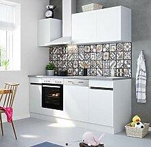 Küchenblock Mika 210 cm mit Einbauspüle ohne