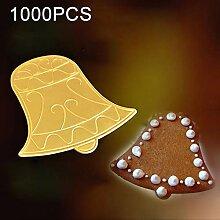 Küchengeräte 1000 STÜCKE Glocke Kuchen Karton