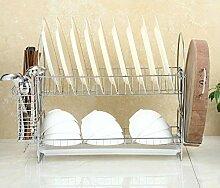 Küchengeschirr Abtropfgestell, multifunktional,