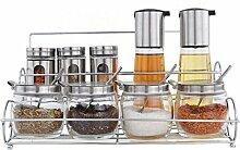 Küchengeschirr Gewürzglas Glas Gewürzkiste Öl