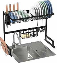 Küchengeschirrablage Regal über Waschbecken,