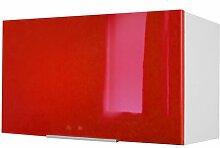 Küchenhängeschrank 17 Stories Farbe: Rot