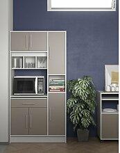 Küchenhängeschrank Ebern Designs Farbe: Taupe