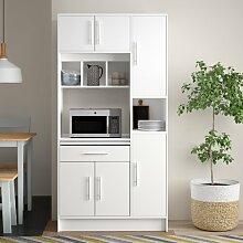 Küchenhängeschrank Ebern Designs Farbe: Weiß