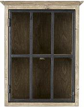 Küchenhängeschrank mit 1 Glastür und