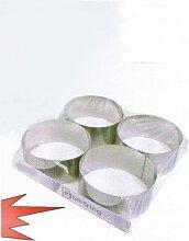 Küchenhelfer Tortenring Dessertring Edelstahl 10
