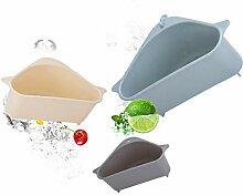 Küchenhelfer Waschbecken Sieb Abfluss Gemüse