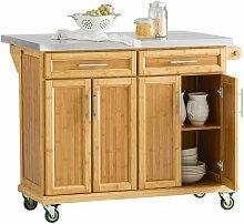 Kücheninsel Küchenwagen mit