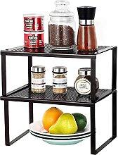 Küchenkabinettzähler-Top-Organizer-Regal,