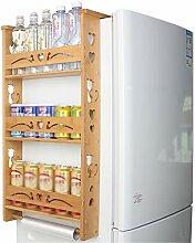 Küchenkühlschrank Seitenträger, kreativer