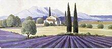 Küchenläufer 120x50 cm Provence Fußmatte Küchenteppich