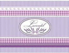 Küchenläufer Lavendel 180x50 cm Fußmatte Küchenteppich