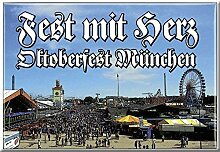 Küchenmagnet - FEST mit HERZ - Oktoberfest