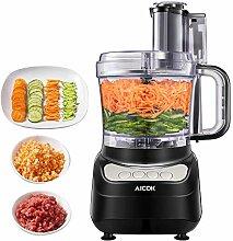 Küchenmaschine, AICOK 2.3L Food Processor,