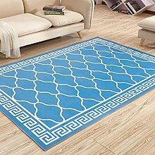 Küchenmatten - Geometrischer Teppich, Dicker Teppich Schlafzimmer Bedside Mat Rectangle Home ( Farbe : D , größe : 80*120cm )