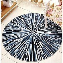 Küchenmatten - Runder Teppich, Wohnzimmer Couchtisch Computer Schwenkstuhl Teppich ( Farbe : B , größe : Diameter100cm )