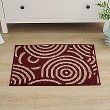 Küchenmatten - Teppich Matratze / Balkon / Schlafzimmer / Küche Absorbent Pad Fußpolster Rutschfeste Matte ( Farbe : 2# , größe : 45*75cm )