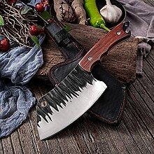küchenmesser 6-Zoll-handgemachtes Messer Hohe