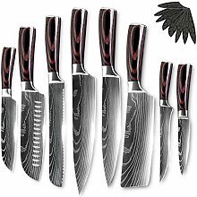 Küchenmesser Chef Messer Edelstahl Messer Set