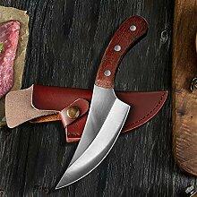 Küchenmesser Fleischermesser geschmiedet