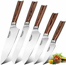 Küchenmesser japanischen Chef Messer Set
