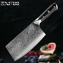 Küchenmesser Set Damaskus 67-Schicht-Stahl