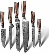 Küchenmesser set Küchenmesser 9 Satz 7CR17 440C