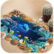 Küchenöl Proof Wandaufkleber |Dolphin Undersea