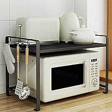 Küchenpfanne Rack Topfdeckel Mikrowelle Backofen