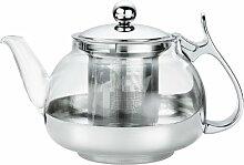Küchenprofi 1045802800 Tee-Kanne, 700 ml, edestahl