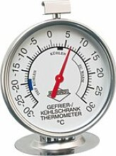Küchenprofi Kühlschrank-Thermometer Edelstahl