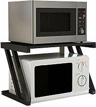 Küchenregal Arbeitsplatte, Mikrowelle Regal mit