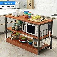 Küchenregal Freistehende Aufbewahrungstheke