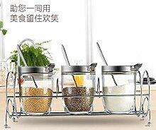 küchenregal gewürzständer Gewürzglas Set
