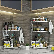 Küchenregal Küche Eckregal, Eckkorbregal