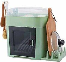 Küchenregal Küche Geschirr Aufbewahrungsbox