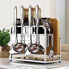 Küchenregal Messer Pan Pot Deckel Regalständer
