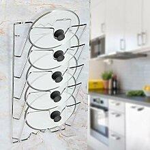 Küchenregal mit 5 Etagen für Kochtopf,