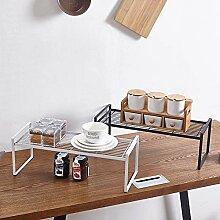 Küchenregal Regal,Kunst Aus Eisen,Offene Struktur