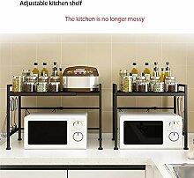 Küchenregal Regal,Metallbackfarbe, nicht leicht