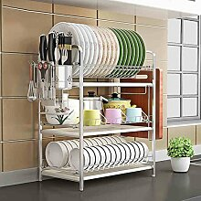 Küchenregal Rostfreier Stahl 3 Etagen Haushalt