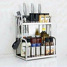 Küchenregal-Spice Utensilienregal Organizer