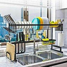 Küchenregal Veranstalter über Waschbecken