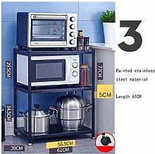 Küchenregale für Mikrowelle, Küchenregale,