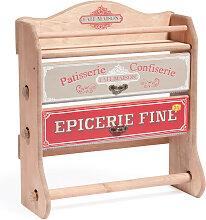 Küchenrollenhalter für die Wand Épicerie Fine