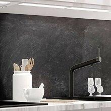 Küchenrückwand 1,5mm selbstklebend - SCHULTAFEL