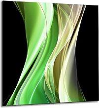 Küchenrückwand aus gehärtetem Glas 60x65 cm